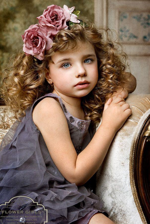 Sofia Fanta (born 2007) fashion child model from Russia. Photo by Ira Bachinskaya.