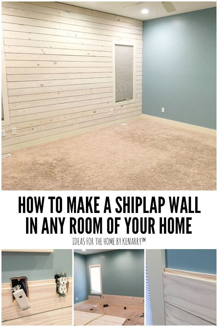 How To Make A Shiplap Wall In Your Home Ideas For The Home 1000 Ship Lap Walls Shiplap Wall Diy Shiplap
