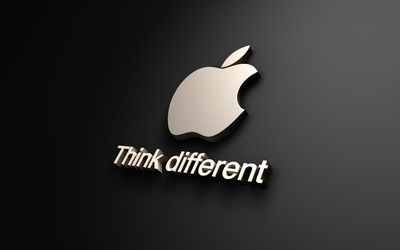 Think Different Apple Logo wallpaper