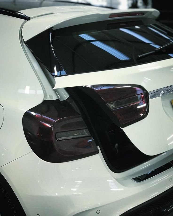 Mercedes GLA Taillight Tint Personal Vehicle Wrap Project