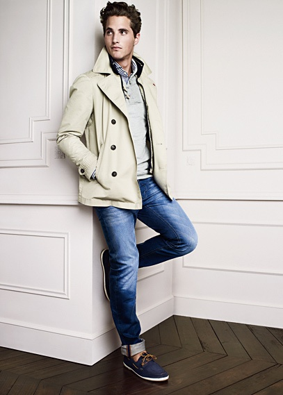 I need this jacket!Men Clothing, Casual Style, Boats Shoes, Blue Jeans, Men Style, Outfit, Men Fashion, Casual Looks, Coats