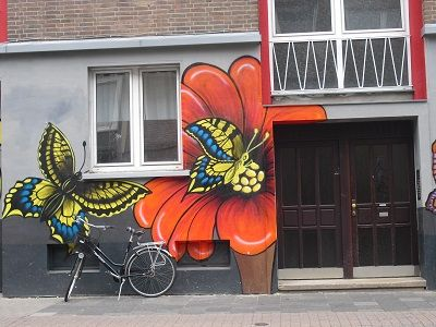 Graffiti. Bremer Straße, Münster.