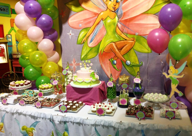 tinkerbell 2nd birthday party ideas Kaysmakehaukco