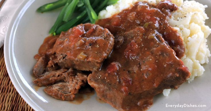 Slow cooker Swiss steak - Everyday Dishes & DIY