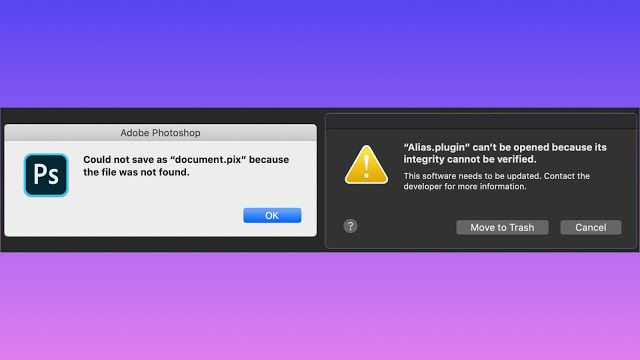 توصي شركة Adobe بأن يوقف مستخدمي برامج Photoshop و Lightroom Classic عن تحديث أجهزة الكمبيوتر الخاصة بهم إلى اصدار Macos Computer Programming Photoshop Plugins