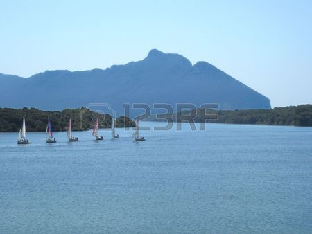 Mount Circeo        Stock Photo