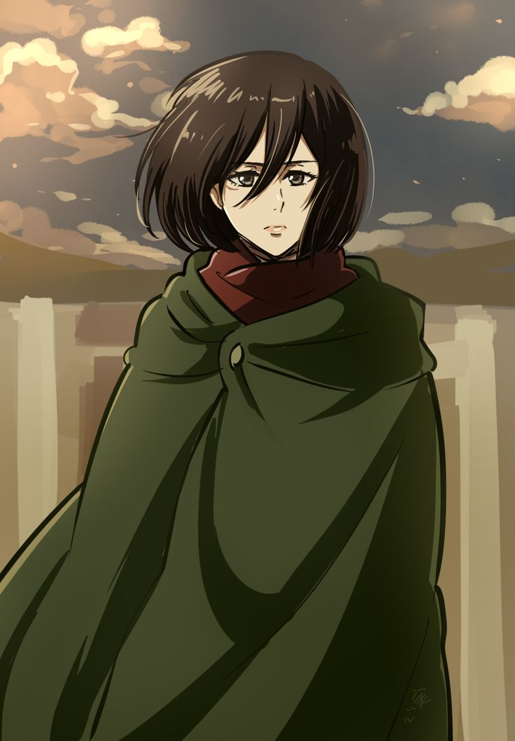 mikasa from one of the last shots of her lost girls ova   Attack on titan, Mikasa, Lost girl