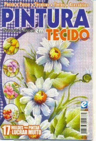 Pintura em Tecido Mini1 - Rosana Carvalho - Picasa Web Albums...FREE MAGAZINE!