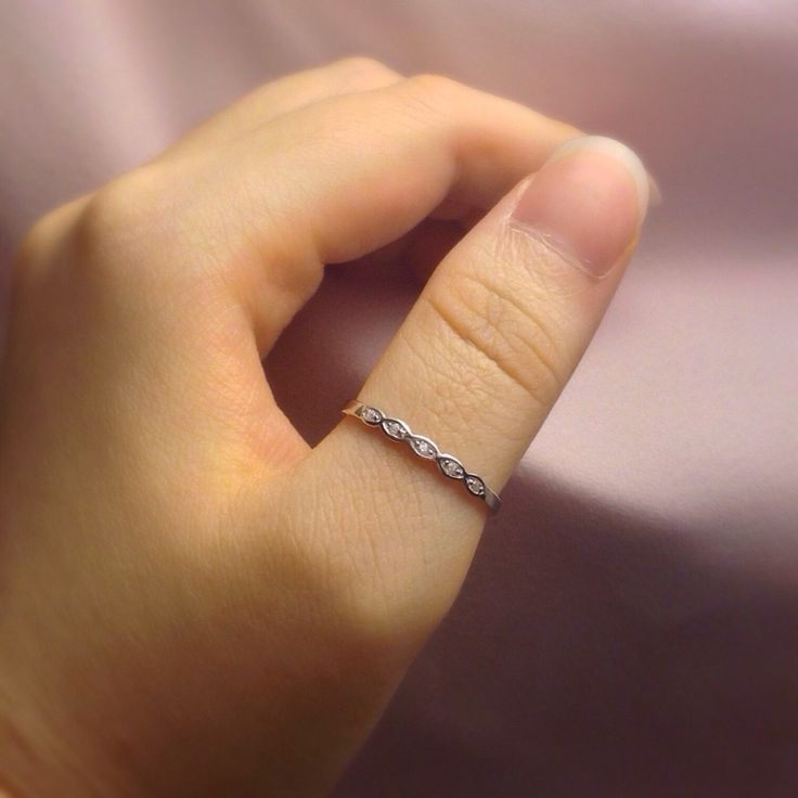 Sterling Silver Thumb Ring for Women  | Thin Thumb Ring | Size 5 6 7 8 | Stackable Cubic Zirconia Thumb Rings | Women Thumb Rings by StoneandSilverGifts on Etsy https://www.etsy.com/listing/258271967/sterling-silver-thumb-ring-for-women