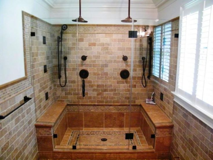 Best 25 stand up showers ideas on pinterest treat for Stand up shower bathroom designs