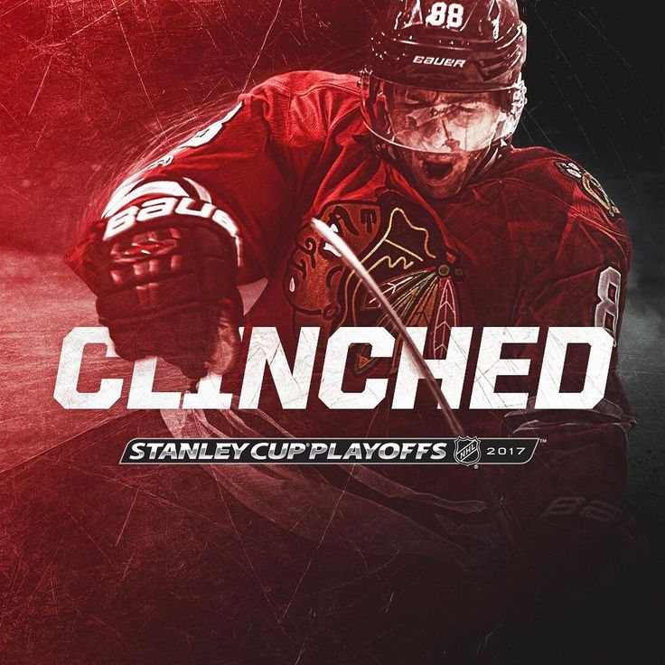 """""""For the 9️⃣th consecutive season, the #Blackhawks have punched their ticket to the playoffs """""""