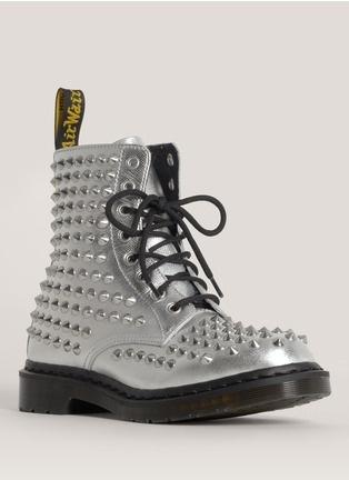 """Dr. Martens - """"Spike"""" studded metallic boots"""
