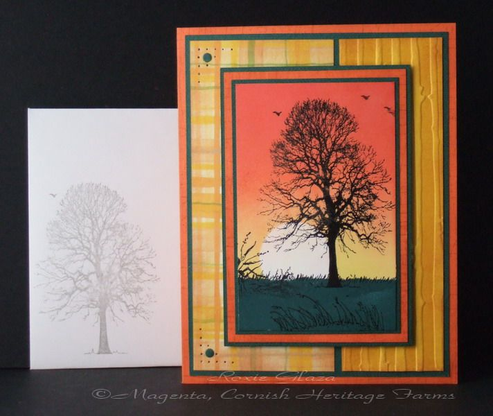 Tree and Plaid by Rox71 - Cards and Paper Crafts at Splitcoaststampers
