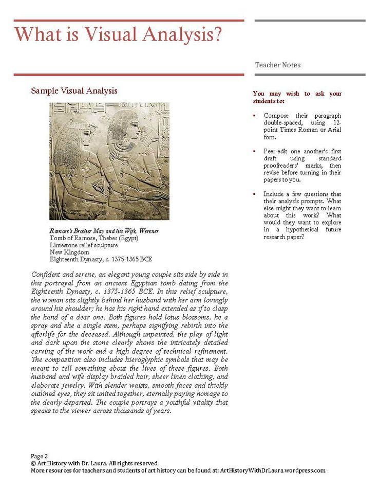 painting analysis essay example