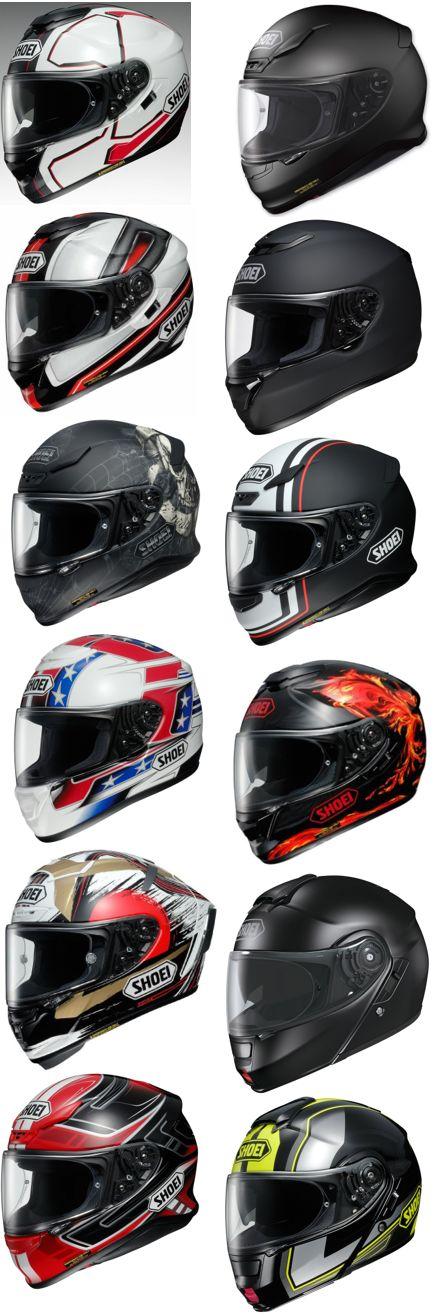 A Selection of Great SHOEI Helmets!!!