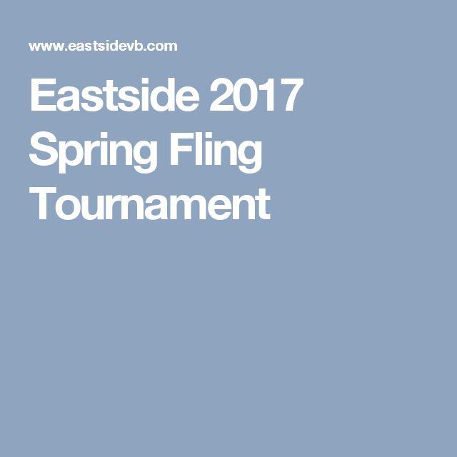 Eastside 2017 Spring Fling Tournament