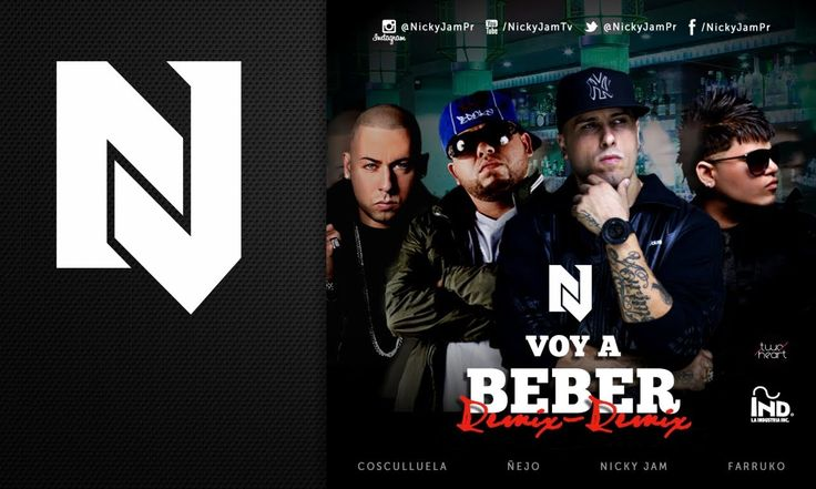 Nicky Jam - Voy a Beber Remix 2 Ft Ñejo, Farruko y Cosculluela | Video C...