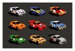 Guy Allen Porsche 911 signed limited edition print