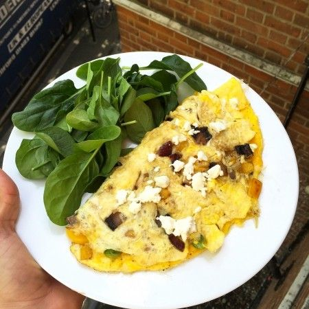 How to eat like the Body Coach | Have you tried Joe Wick's Mushroom mozzarella omelette yet? We think you should! For more healthy recipes visit redonline.co.uk