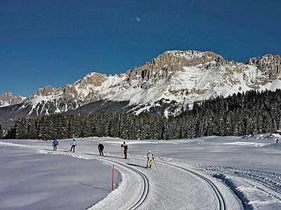 La marcialonga: sci di fondo in Trentino (Val di Fiemme)