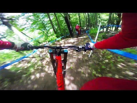 Claudio Caluori Follows Aaron Gwin on Technical MTB Track