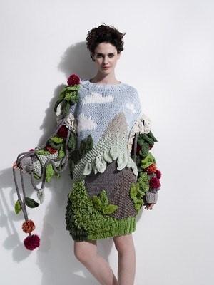dress by Lucy Faulke