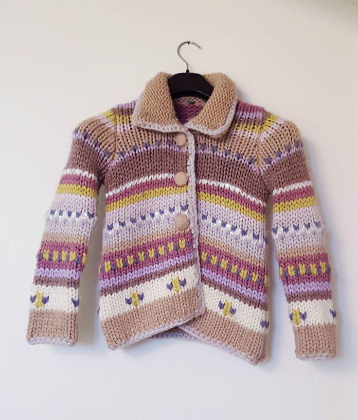 Benetton cappotto  in misto lana 6/8 anni
