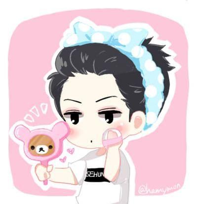 Sehun [Lovely] >///<   Cute