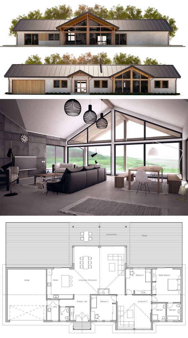 429 best images about Casas on Pinterest House design Small