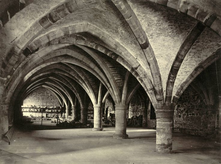Castle Crypt — Durham University, England | 21 College Campuses That Make You Feel Like You're At Hogwarts
