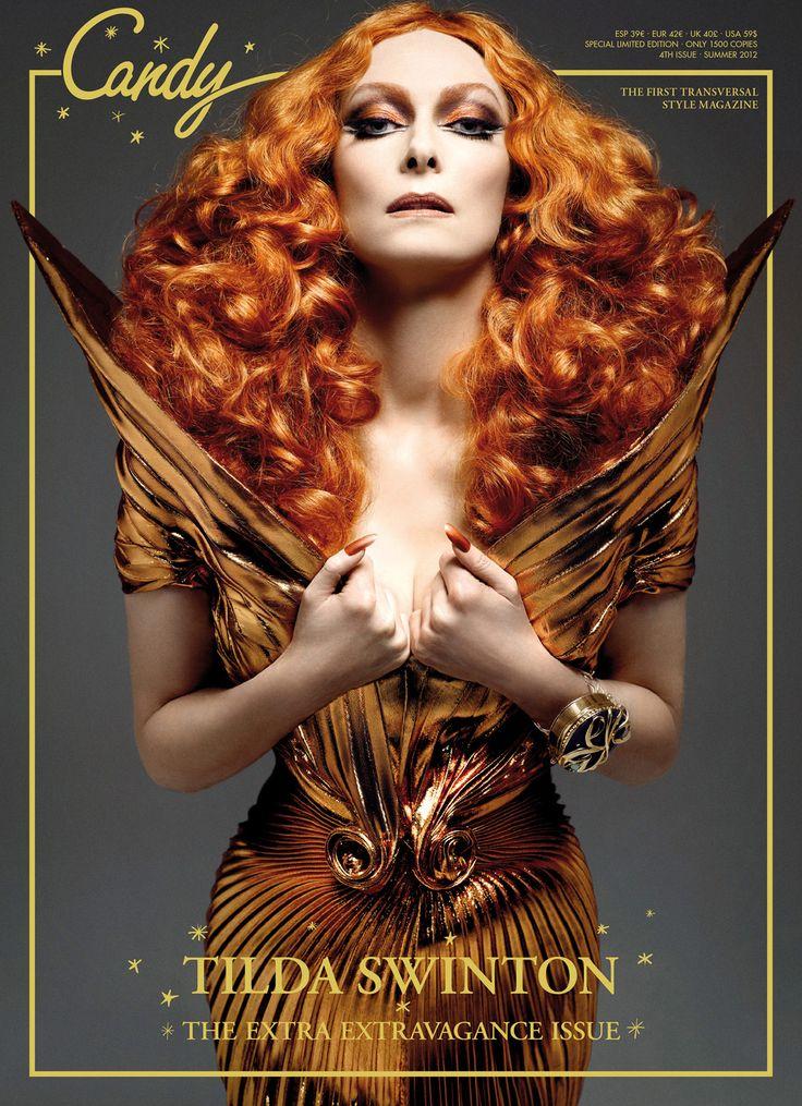 "Über-Divine: Tilda Swinton em ""The Transformer"" - Candy Magazine"