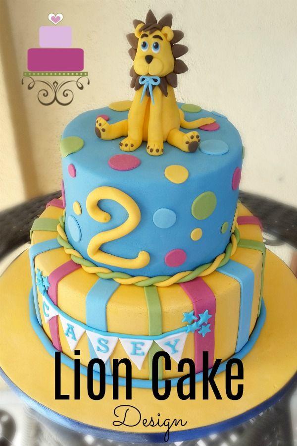 Lion Cake Design In 2019