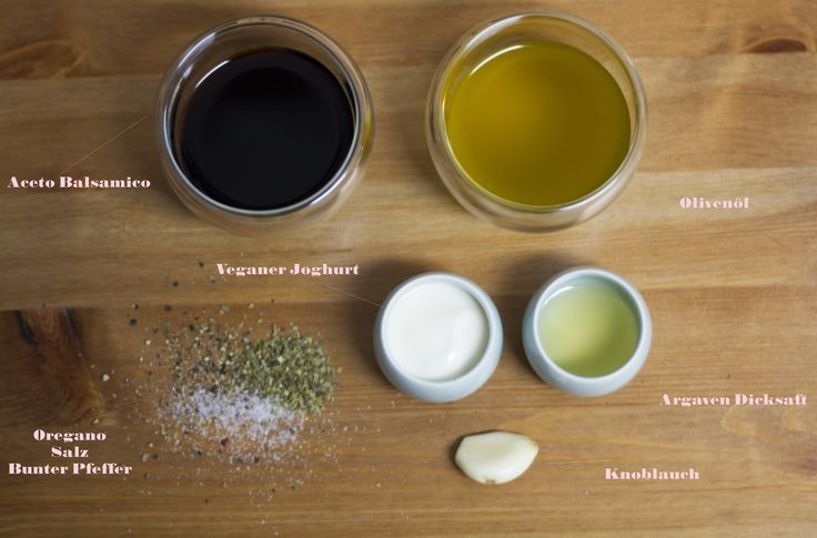 Cremiges Balsamico Dressing