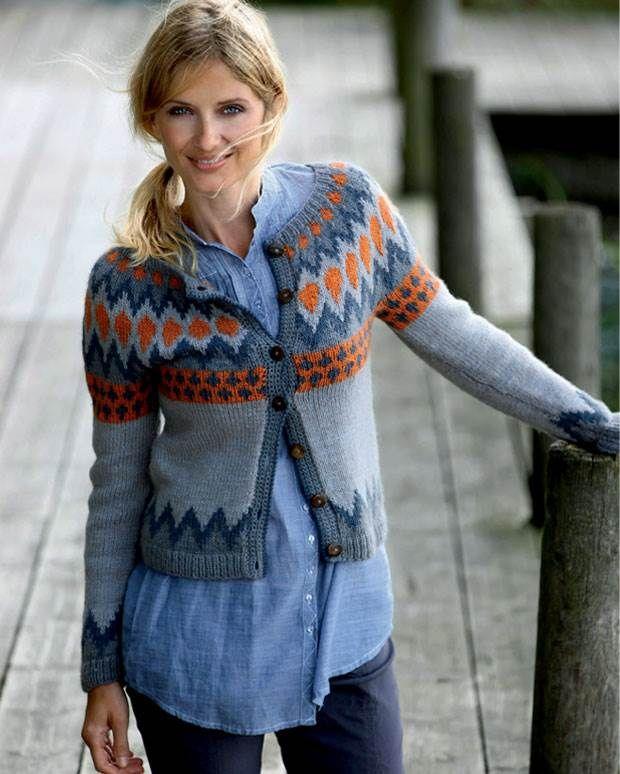 Strik selv: Nordisk trøje fra Hendes Verden