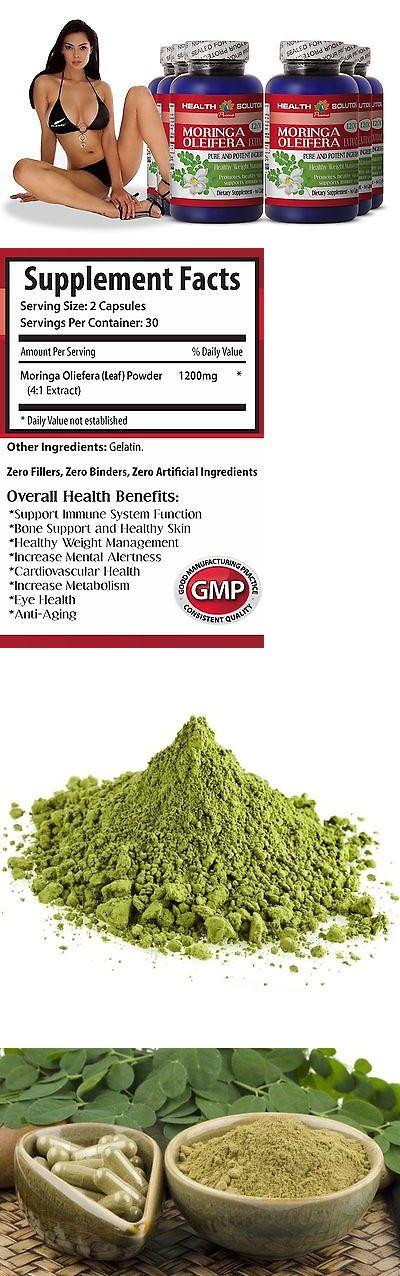 Weight Loss Supplements: Organic Antioxidants - Moringa Oleifera Pills 1200Mg 6 Bottles -> BUY IT NOW ONLY: $56.95 on eBay!