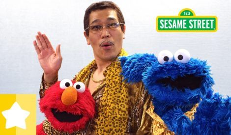 We had such a fun working with PIKOTARO on our version of Cookie-Butter-Choco-Cookie song. He taught Elmo and Cookie Monster how to dance right. HELP US TRANSLATE this video and spread Sesames Japanglish to the world audience.  Thank you…