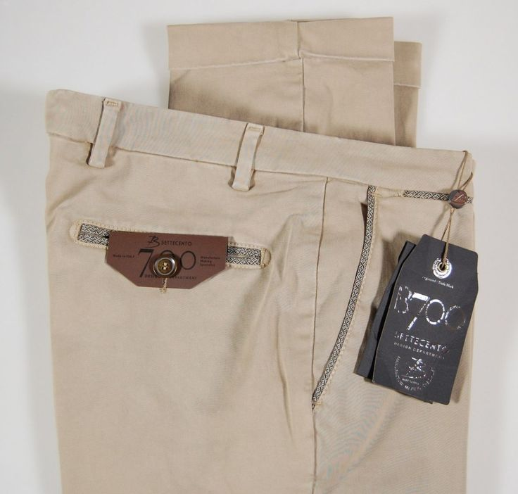 Cotton slim fit stretch trousers bsettecento