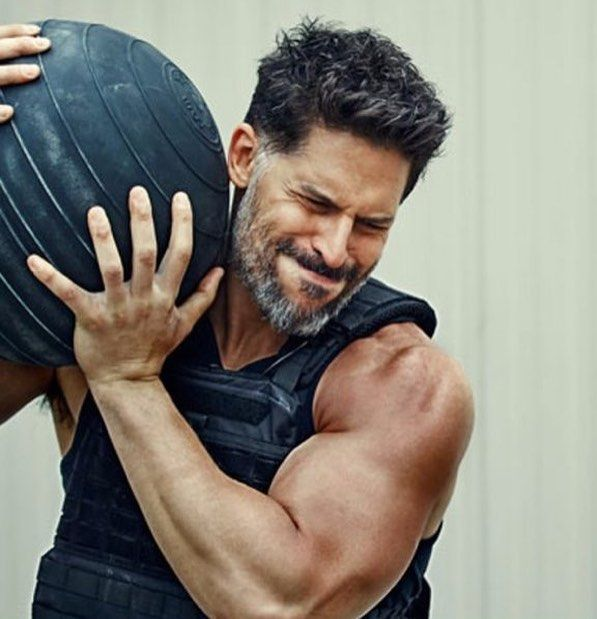 "Joe Manganiello (@joemanganiello) on Instagram: ""Tossing a D Ball in the August issue of @menshealthuk"""