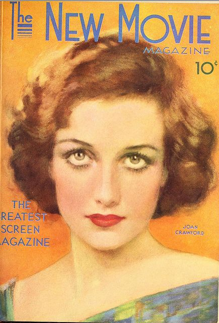 Joan Crawford on the cover of The New Movie Magazine - May 1930