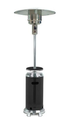 ##GET AZ Patio Heaters HLDS01-SSBLT Tall Stainless Steel Patio Heater with Table, 87-Inch, Black Review Price Compare | Heater Style