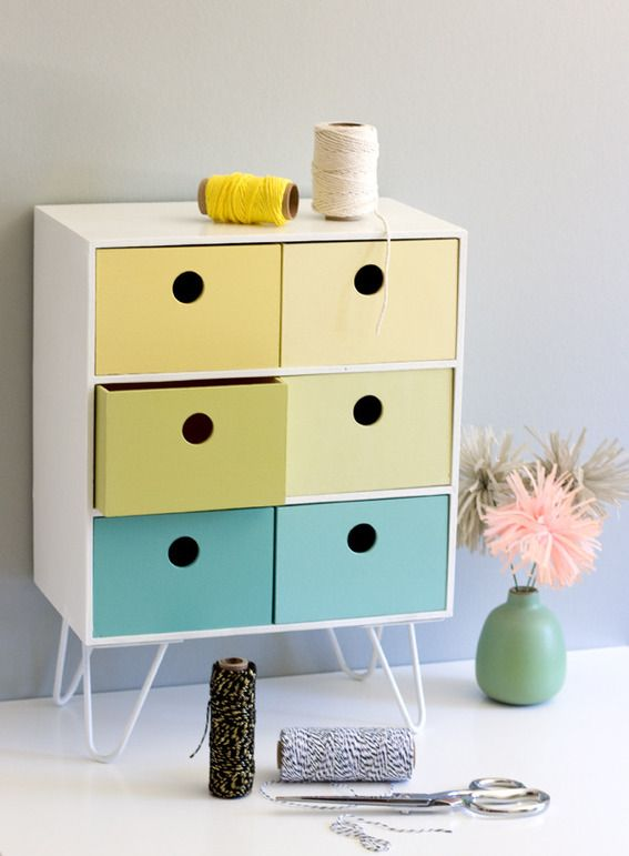 Make It: DIY Retro-Inspired IKEA Storage Hack » Curbly | DIY Design Community