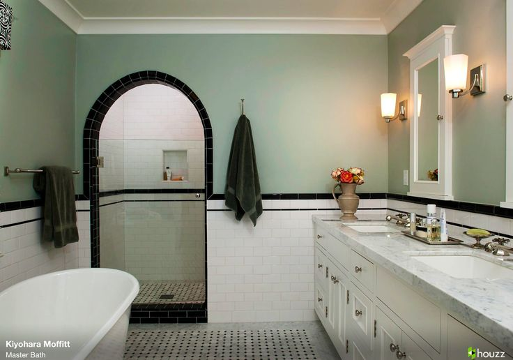 Pin By Julia Carter On Bathrooms Pinterest 1930s