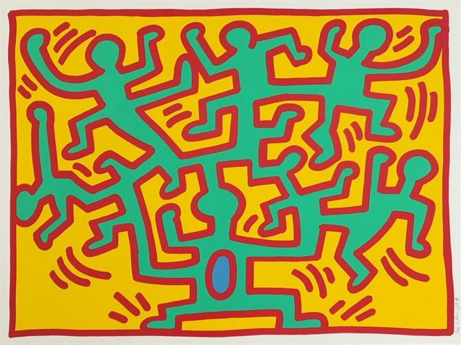 Growing 2 by Keith Haring on artnet Auctions