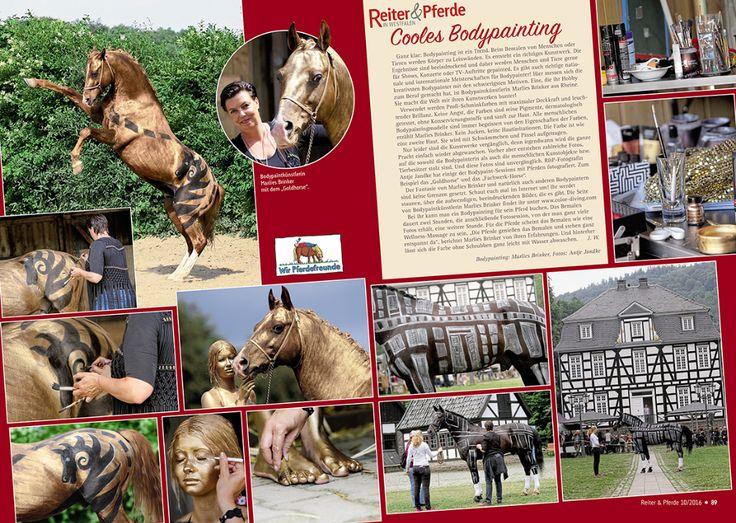 Freu, freu, freu, mein Horspainting mit Fotoshooting jetzt druckfrisch in der neuen Ausgabe der Zeitschrift Reiter & Pferde in Westfalen . Und ein ganz großes DANKEEEEE an Antje, von Tierfotografie Jandke für die tolle Zusammenarbeit. www.tierfotografie-j