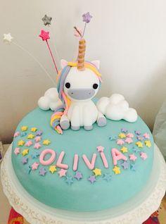 Unicorn cake #birthdayCake #cake #unicorn #girl