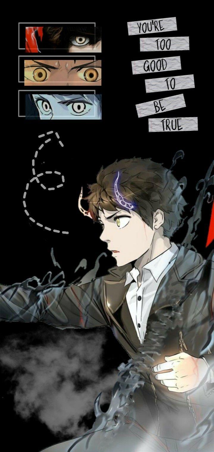 Bam Tower Of God Lockscreen Wallpaper Anime Gambar Karakter Animasi