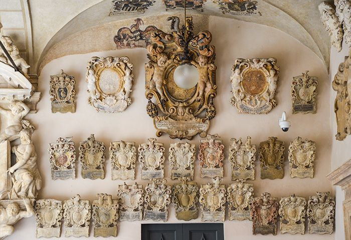 Particolare dei Portici - Palazzo del Bo - Sede dell'Università di Padova (Padova)