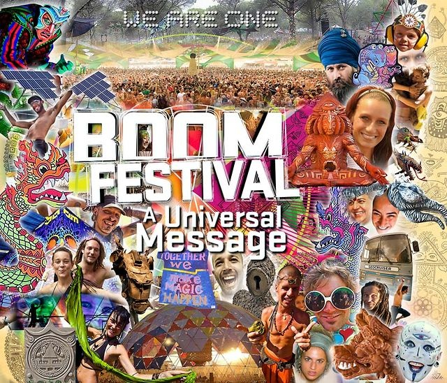 Boom Festival - A Universal Message HD by Boom Festival Official. Since 1997 Boom is a gathering of free spirits from all over the world that build the post-reality and connect with the universal spirit.