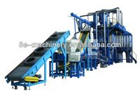 High efficient Rubber shredder machine/Tire recycling equipment/ Tire/tyre recycling machine with CE certification http://m.alibaba.com/product/526086832/High-efficient-Rubber-shredder-machine-Tire.html