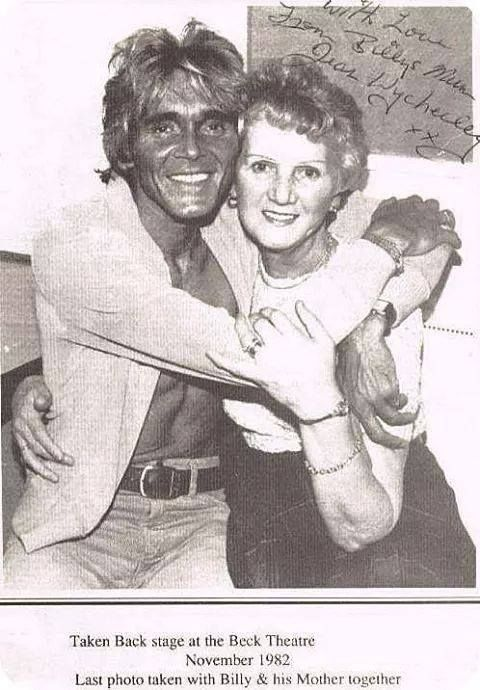 Billy & his Mum in 82'
